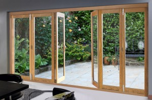 Centre Opening 6 door 4190mm Deluxe Bifold Doors