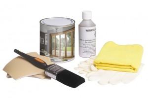 White Care and Finish Kit