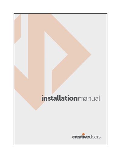 Installation Guide  (PDF).