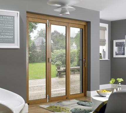 OpenVu Supreme bi-fold door